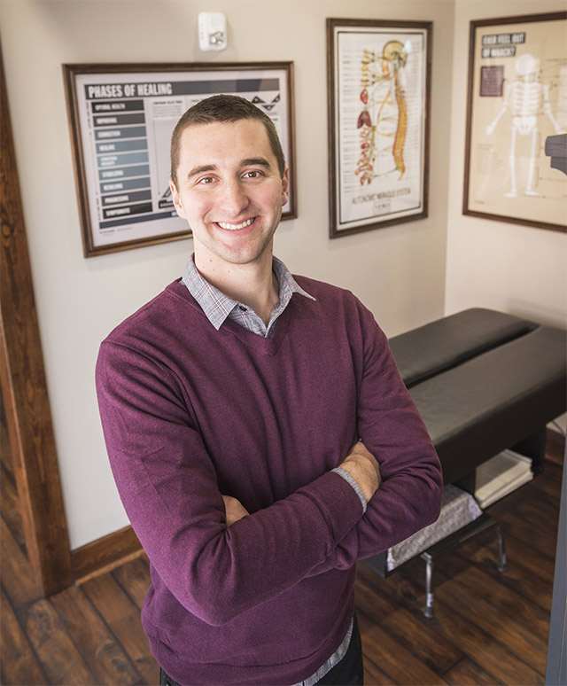 Benefits of visiting Madison chiropractor Dr. Joey Kelbel